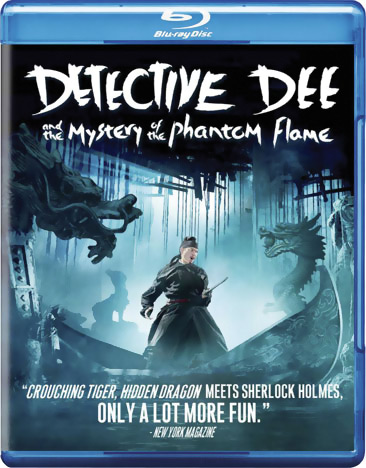Detective Dee and the Mystery of the Phantom Flame Blu-ray 883476061405