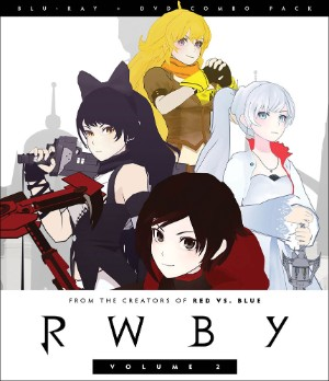 RWBY Blu-ray/DVD Volume 2 883476145693