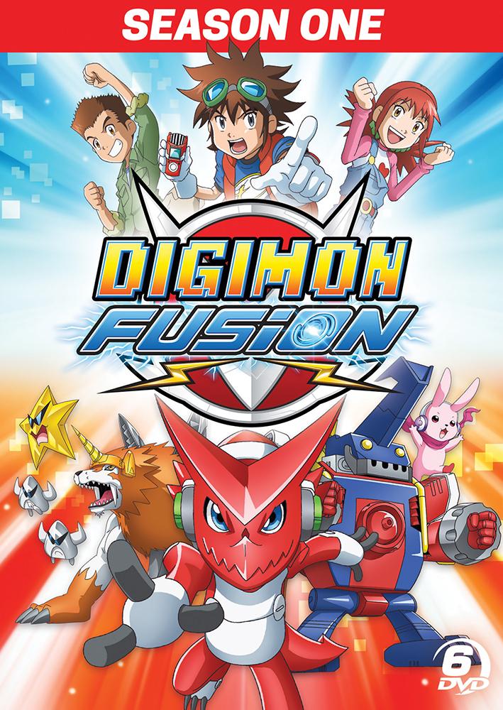 Digimon Fusion Season 1 Dvd