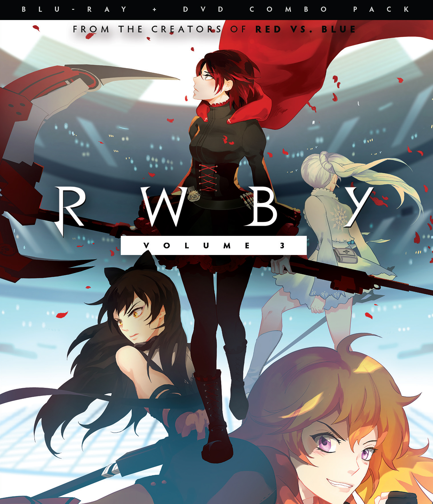 RWBY Blu-ray/DVD Volume 3 883476150901