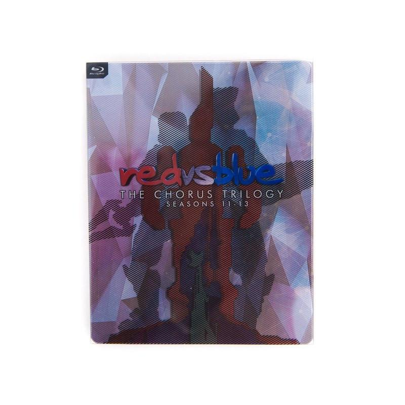 Red Vs Blue Seasons 11-13 Steelbook Blu-ray 883476151168