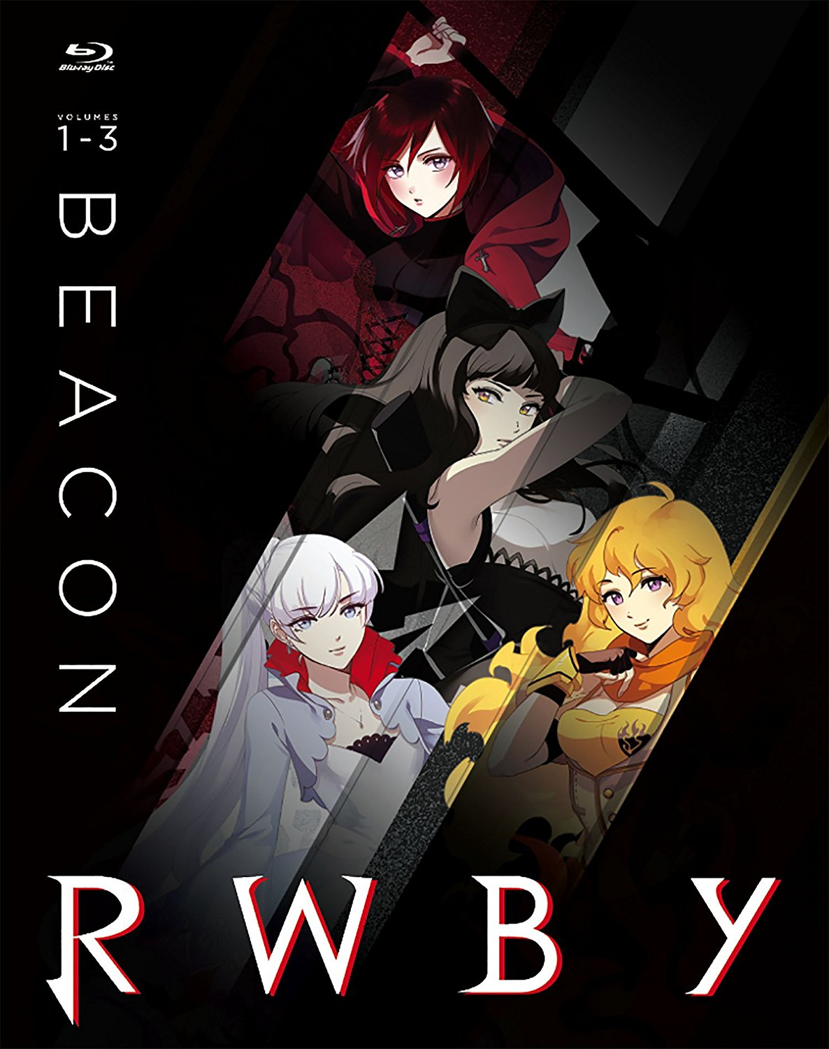 RWBY Beacon Collection Blu-ray Volumes 1-3 883476151502