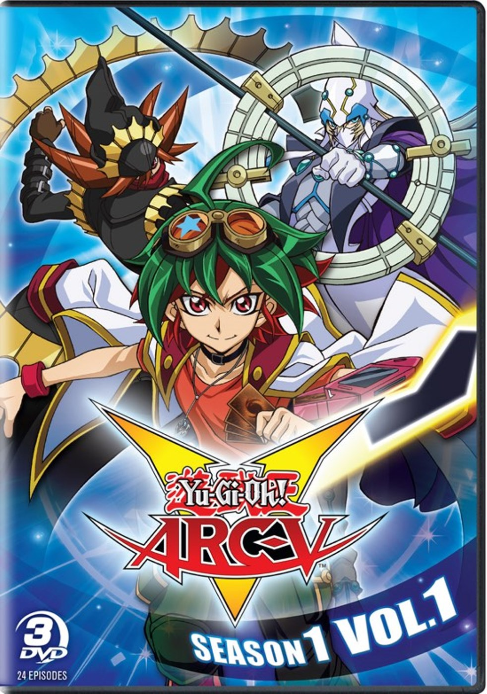 YuGiOh Arc V Season 1 Volume 1 DVD 883476151564