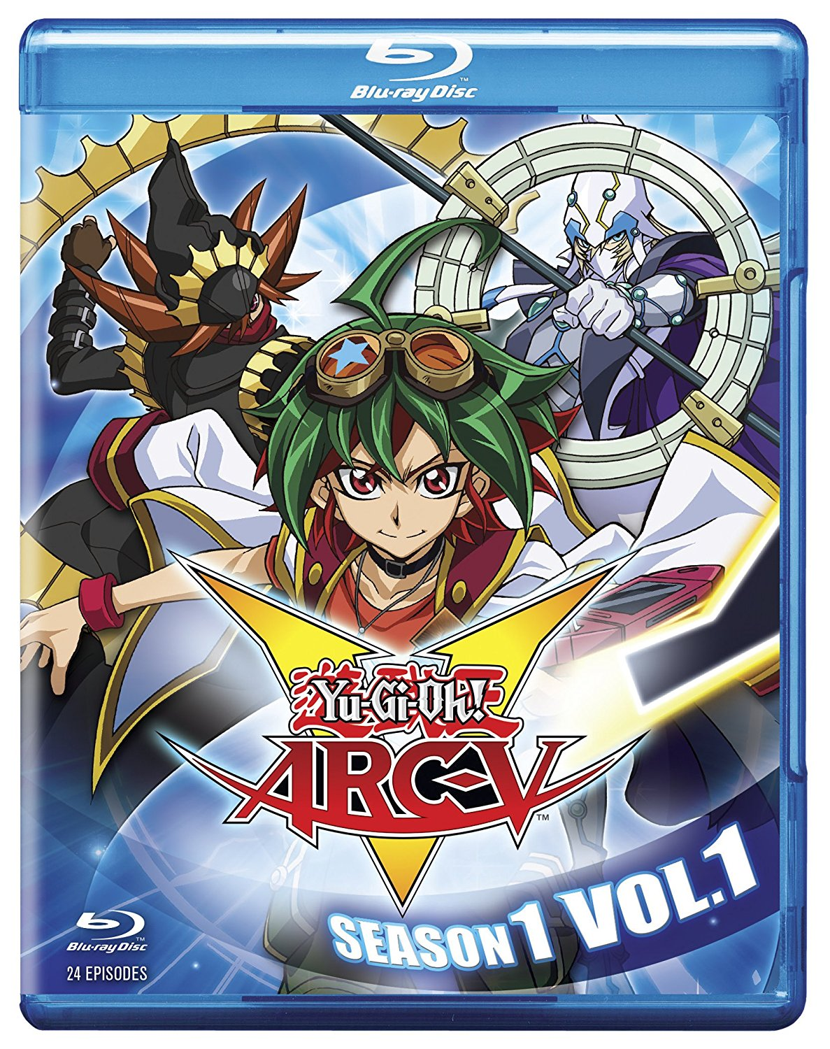 YuGiOh Arc V Season 1 Volume 1 Blu-ray 883476151793