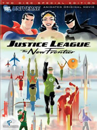 Justice League: The New Frontier Special Edition DVD 883929008483