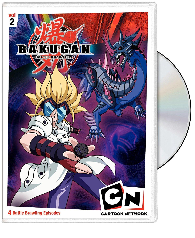 Bakugan Battle Brawlers DVD 2 883929041756