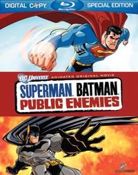 Superman/Batman: Public Enemies Blu-ray 883929070626