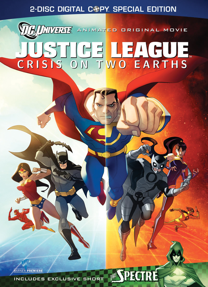 Justice League: Crisis On Two Earths Special Edition DVD 883929094592