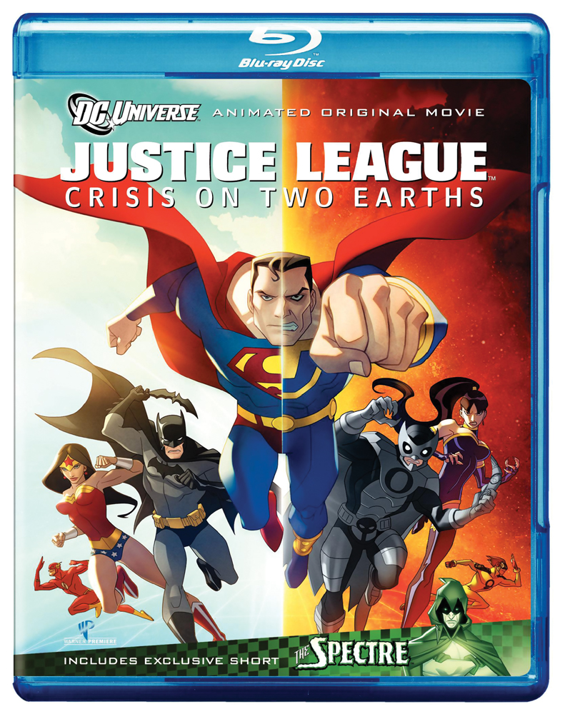 Justice League: Crisis On Two Earths Blu-ray 883929094738