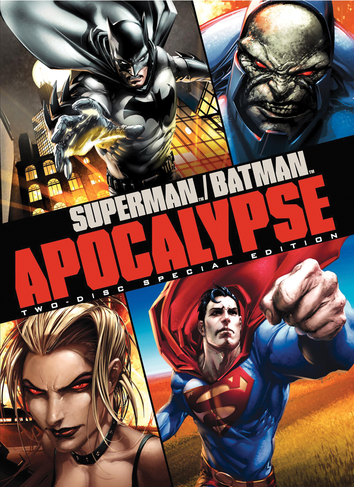Superman/Batman: Apocalypse Special Edition DVD 883929103379