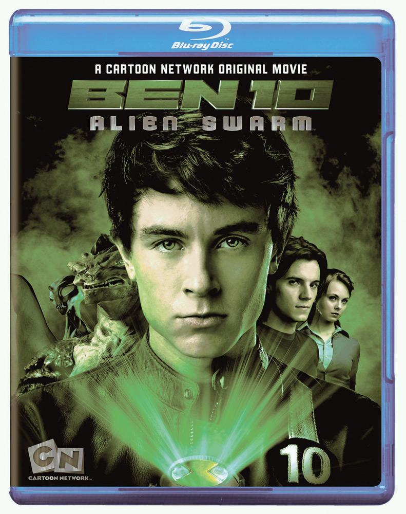 Ben 10: Alien Swarm Blu-ray 883929104680
