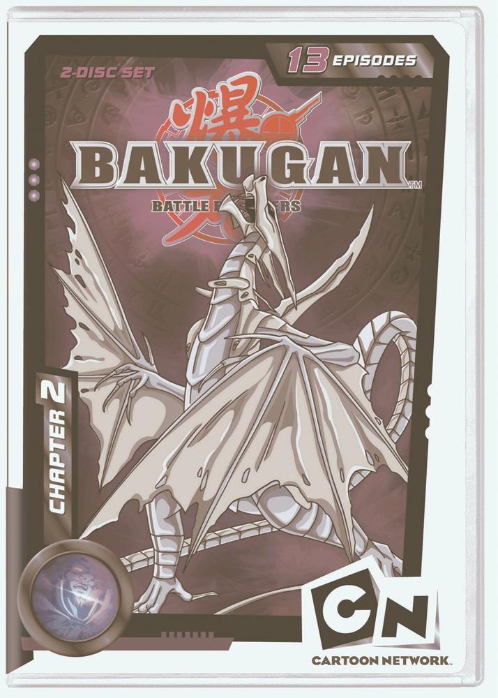 Bakugan Battle Brawlers Chapter 2 DVD 883929125418