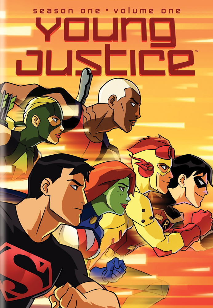 Young Justice Season 1 DVD 1 883929137442