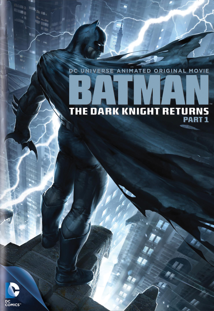 Batman The Dark Knight Returns Part 1 DVD 883929206131