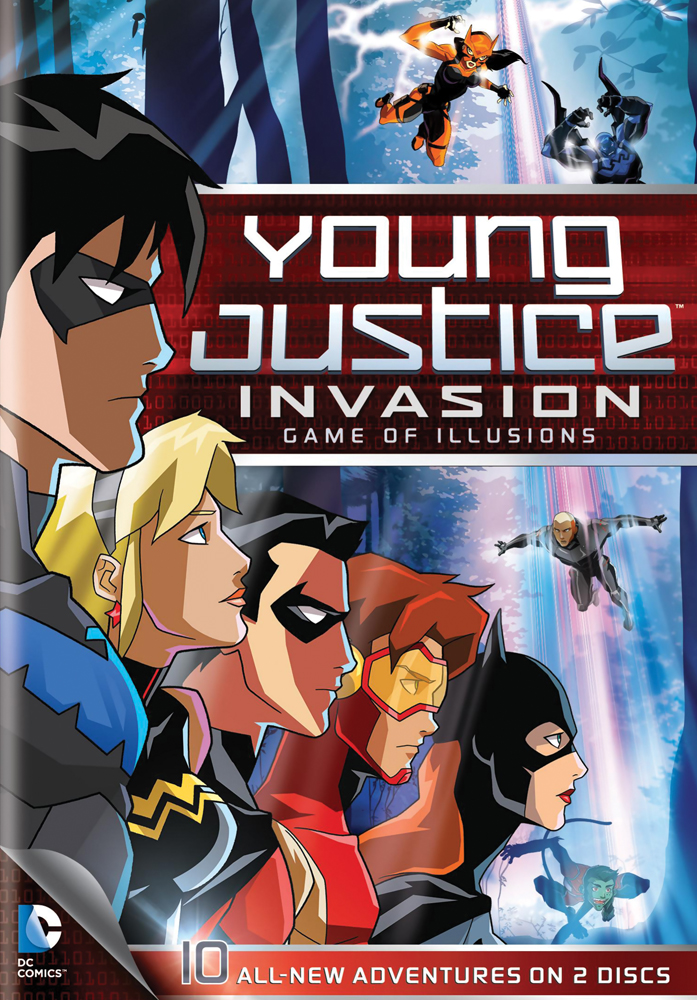 Young Justice Season 2: Invasion DVD Part 2 883929250714