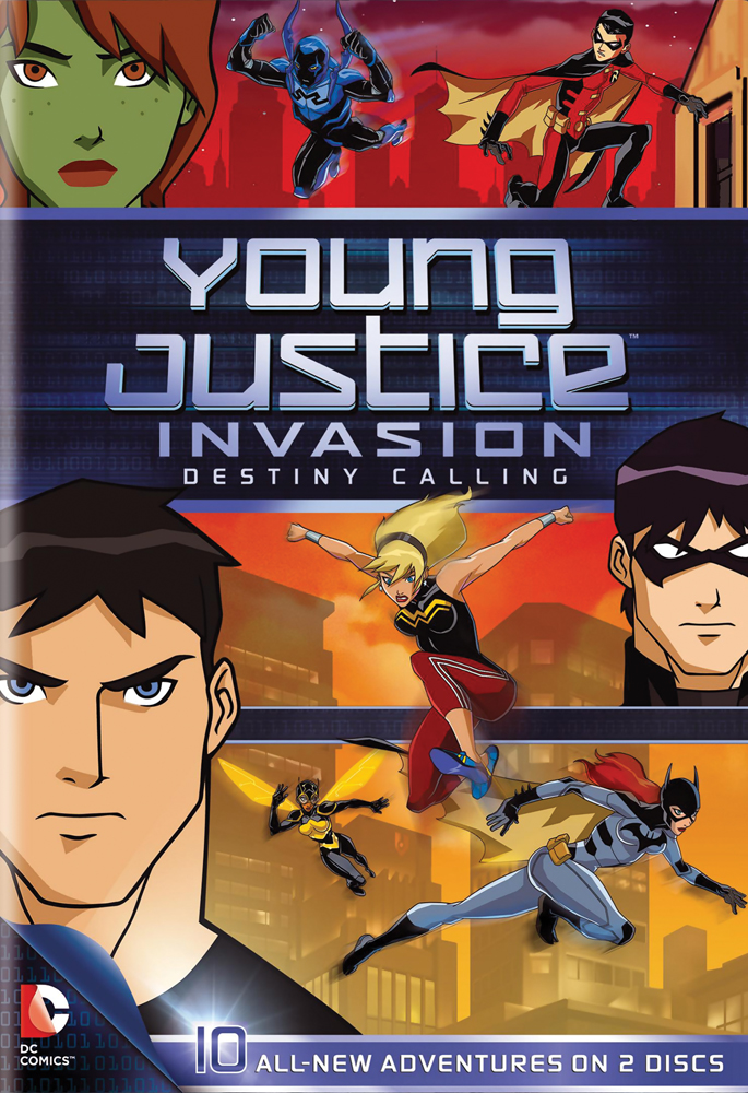 Young Justice Season 2: Invasion DVD Part 1 883929250721