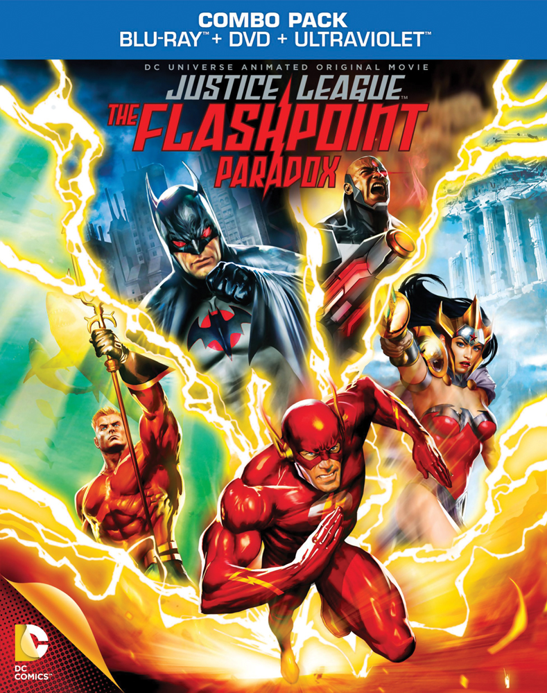 Justice League: The Flashpoint Paradox Blu-ray/DVD 883929255436