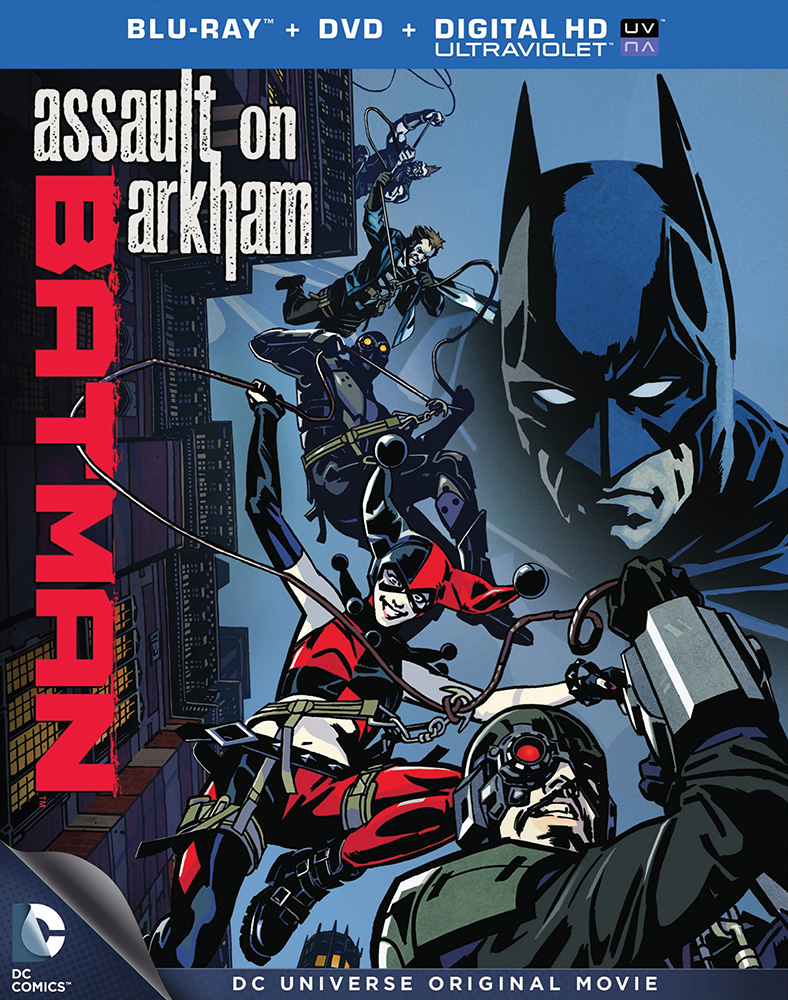 Batman: Assault on Arkham Blu-ray/DVD 883929336517