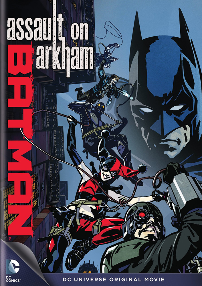 Batman: Assault on Arkham DVD 883929336524