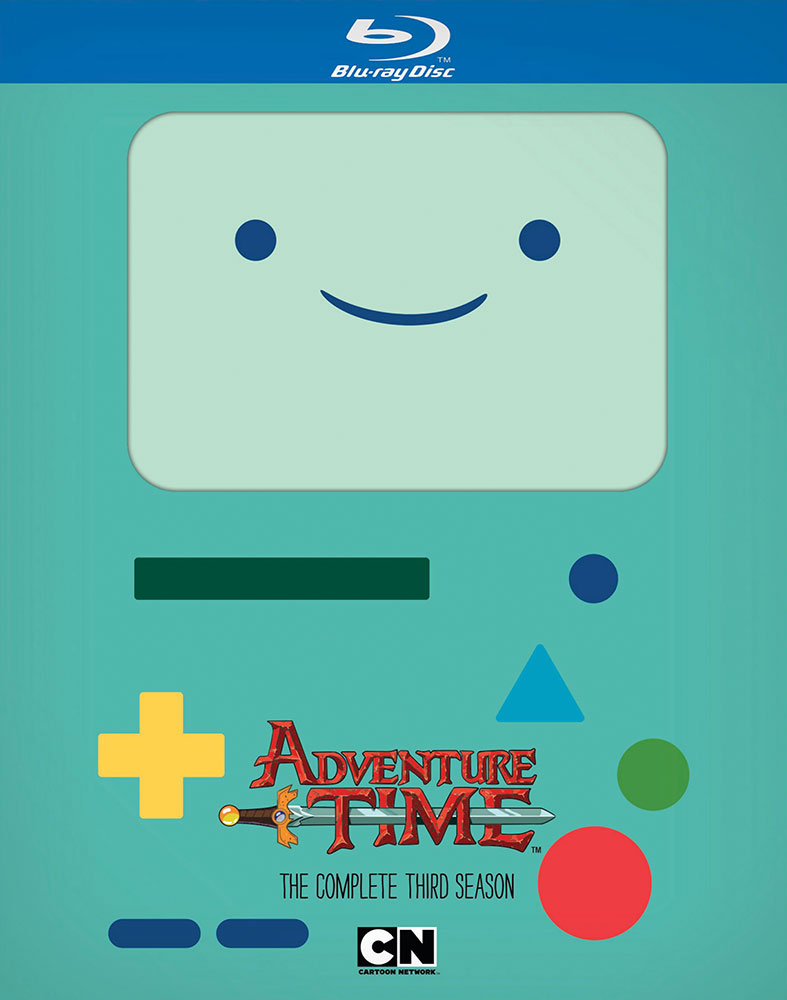 Adventure Time Blu-ray Complete Season 3 883929365548