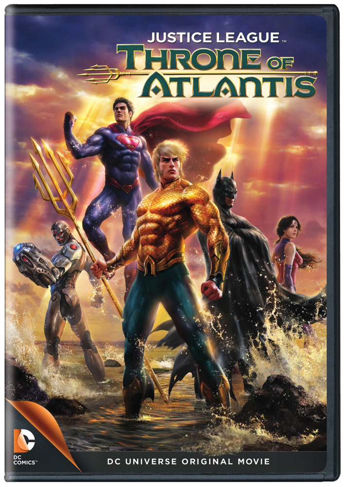 Justice League: Throne of Atlantis DVD 883929366101