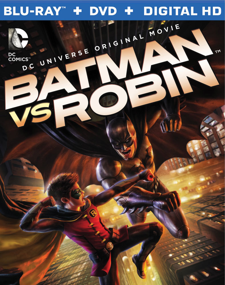 Batman vs. Robin Blu-ray/DVD 883929394074