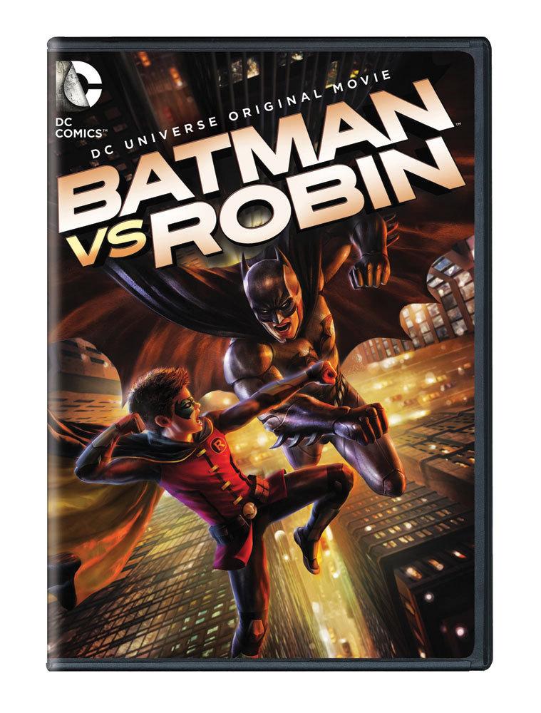 Batman vs. Robin DVD 883929394098