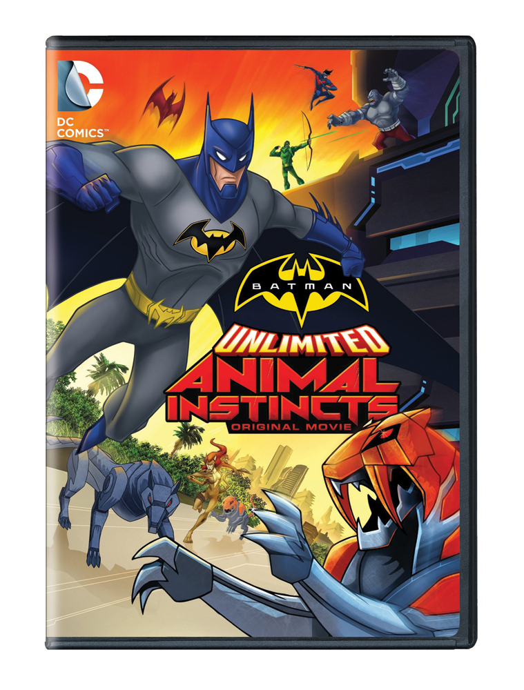 Batman Unlimited: Animal Instincts DVD 883929421459