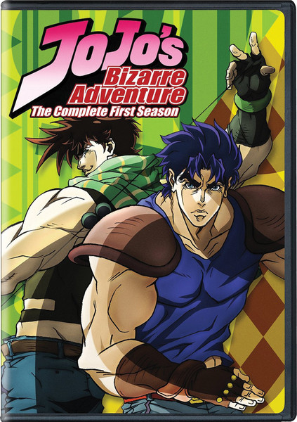 JoJo's Bizarre Adventure Season 1 DVD
