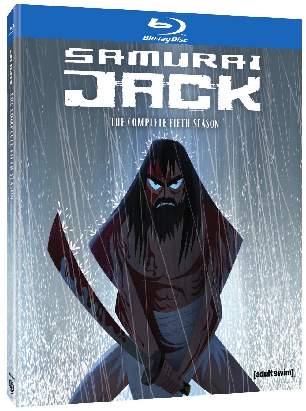 Samurai Jack Season 5 Blu-ray 883929599936