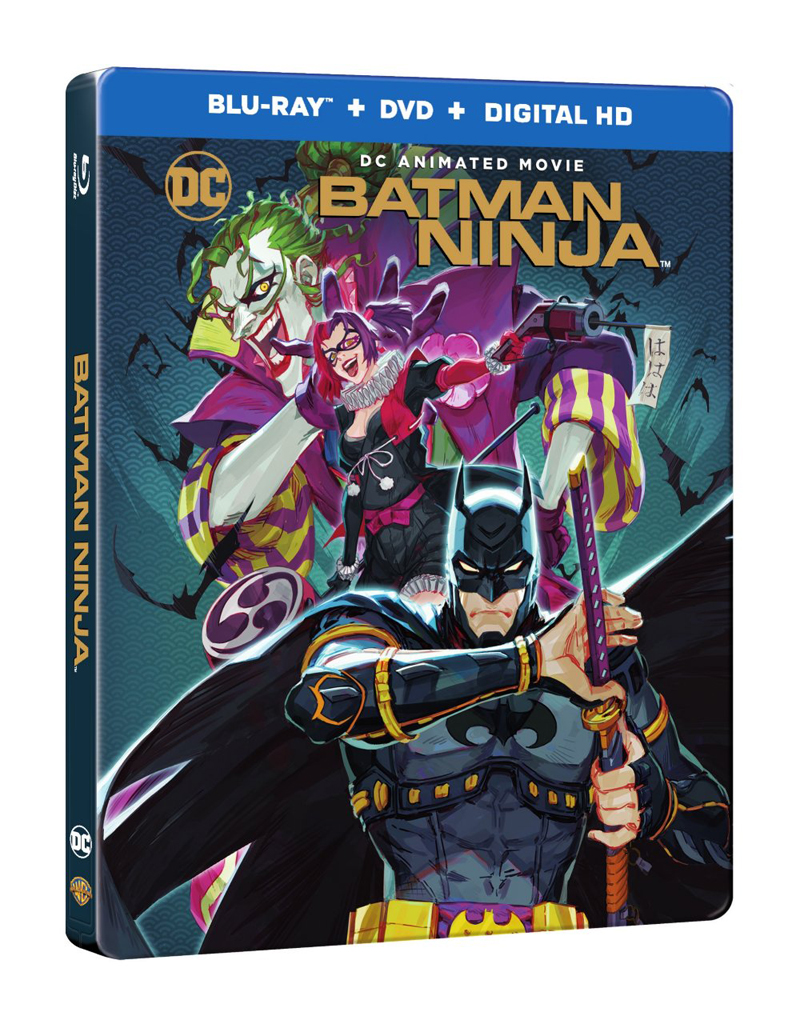 Batman Ninja Blu-ray/DVD 883929613472