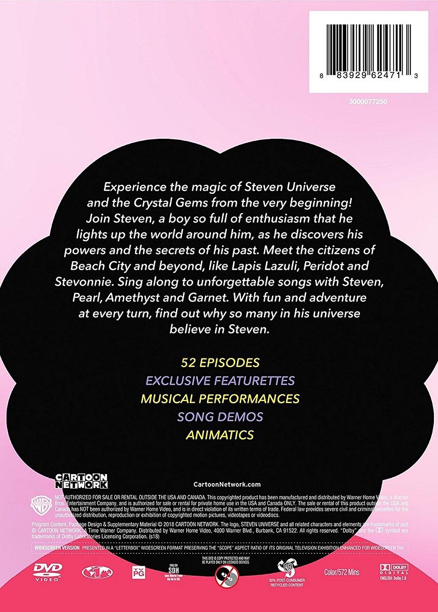 Steven Universe Season 1 DVD