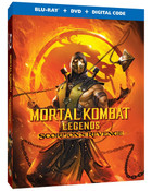 Mortal Kombat Legends Scorpion's Revenge Blu-ray