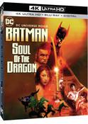 Batman Soul of the Dragon 4K HDR/2K Blu-ray