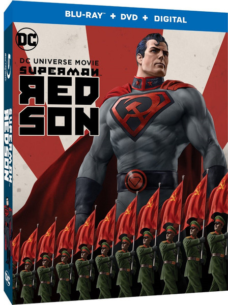 Superman Red Son Blu-ray/DVD