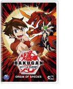 Bakugan Battle Planet Origin of Species DVD