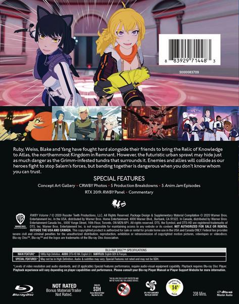 RWBY Volume 7 Blu-ray