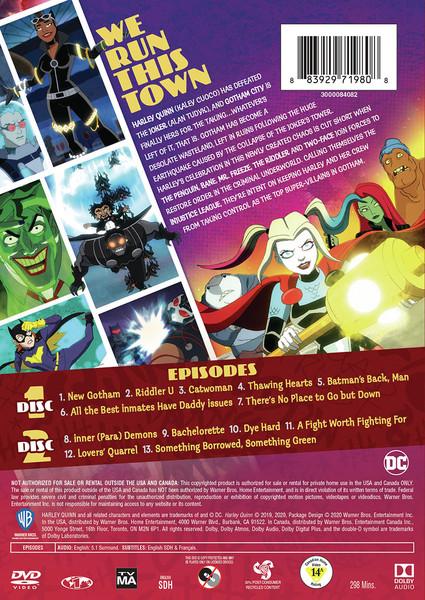 Harley Quinn Season 2 DVD