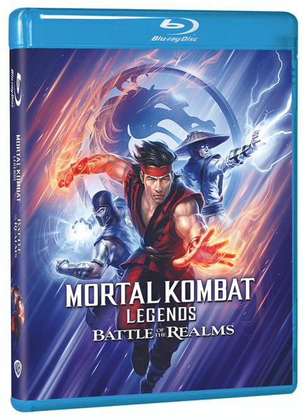 Mortal Kombat Legends Battle of the Realms Blu-ray