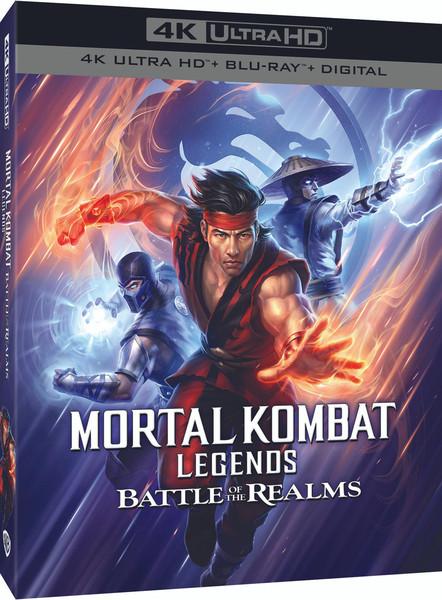 Mortal Kombat Legends Battle of the Realms 4K HDR/2K Blu-ray