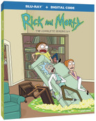 Rick and Morty Seasons 1-4 Blu-ray