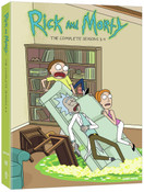 Rick and Morty Seasons 1-4 DVD