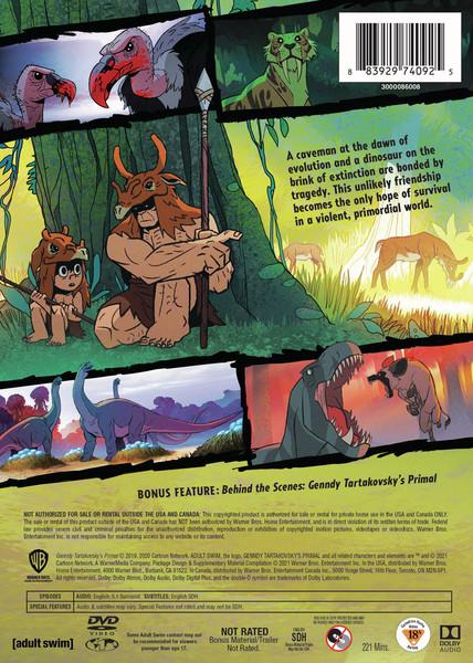 Genndy Tartakovsky's Primal Season 1 DVD