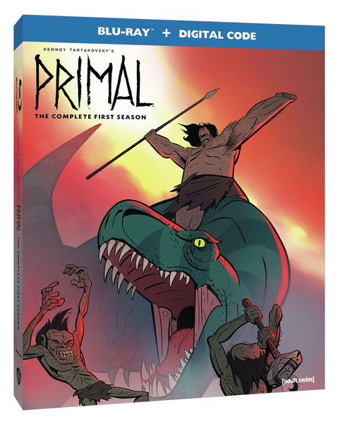 Genndy Tartakovsky's Primal Season 1 Blu-ray