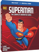 Superman The Complete Animated Series Blu-ray