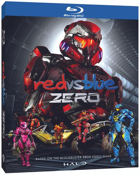 Red Vs Blue ZERO Blu-ray