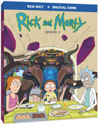 Rick and Morty Season 5 Blu-ray