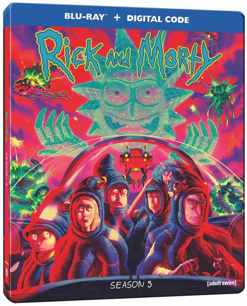 Rick and Morty Season 5 Steelbook Blu-ray