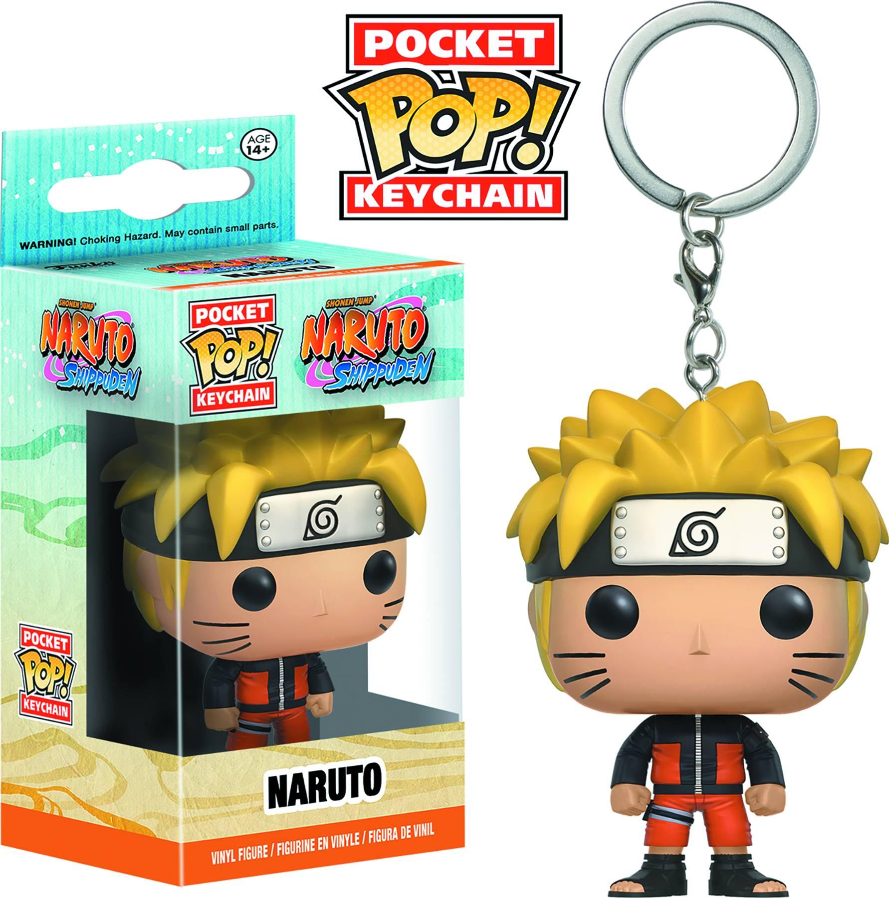 Naruto Naruto Shippuden Pocket POP Keychain 889698106634