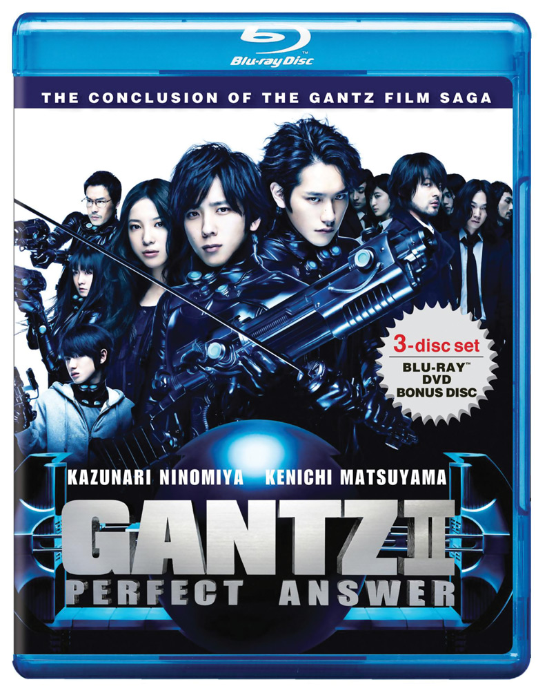 Gantz II Perfect Answer Blu-ray/DVD 896911001355